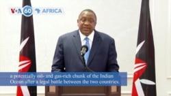 VOA60 Afrikaa - Court Awards Somalia Bulk of Indian Ocean Territory Also Claimed by Kenya