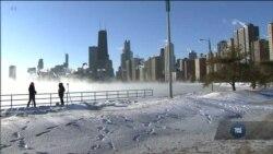 Погода на Середьному Заході США: холодніше, ніж в Антарктиді, на Алясці і в Сибіру. Відео
