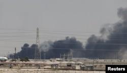 Səudiyyə Ərəbistanının neft emalı obyektlərinə dron hücumları Yəməndəki İran dəstəkli Husi üsyançıları tərəfindən həyata keçirildi.