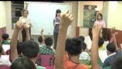 2013-10-31 美國之音視頻新聞: 愈來愈多香港人學習美式英語