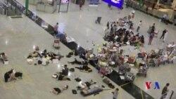 香港機場重新開放