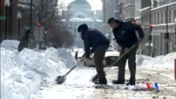 2016-01-26 美國之音視頻新聞: 美國東岸大暴風雪過後正慢慢恢復正常