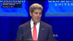 Kerry Calls Climate Change a 'Threat Multiplier'