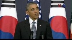 TT Obama: Mỹ sát cánh với Hàn Quốc trước đe dọa của Triều Tiên
