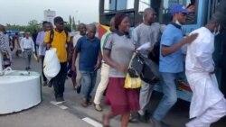 Yadda mutane su ke fuskantar matsalar sufuri a birnin tarayya Abuja