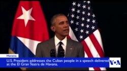 Full Speech: President Obama Speaks to Cuban People