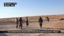 Kurdish-led Syrian Forces Capture Villages on Road to Raqqa