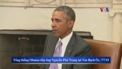 Báo Mỹ nói gì về chuyến thăm Việt Nam của Tổng thống Obama?