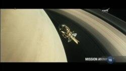 Космічний апарат «Кассіні» завершив свою роботу і згорів в атмосфері Сатурна. Відео