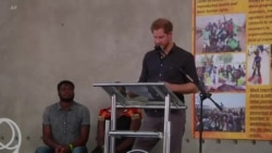 Britain's Duke of Sussex Praises Africa's Youth During Zambia Visit
