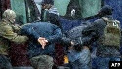 Задержание на оппозиционной акции в Минске, архивное фото