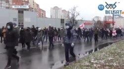 Belarus'ta Yine Protesto Yine Gözaltılar