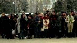 Краматорск чтит память жертв ракетной атаки 10 февраля