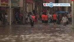 Manchetes Mundo 23 Julho 2021: China entre as chuvas torrenciais e o tufão