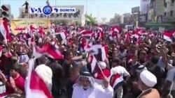 VOA60 DUNIYA: IRAK Dubban Mafusatan Masu Zanga-Zanga Sun Mamaye Unguwar Ma'aikatan Diflomasiyya da ke Baghadaza