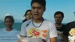 Dân Việt tưởng niệm 25 năm trận chiến Gạc Ma chống TQ