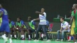"Jackson Richardson, un ""barjot"" du handball français au Gabon (vidéo)"