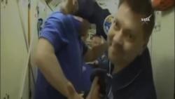 俄羅斯聯盟號載人飛船與國際空間站對接