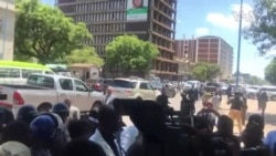 Zimbabwe Doctors Stage Peaceful Protest