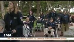 Des anciens combattants se souviennent du Débarquement à Omaha Beach