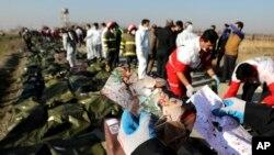 8 Ocak tarihinde Tahran yakınlarında füzeyle vurularak düşen yolcu uçağında bulunan 176 kişi hayatını kaybetmişti.