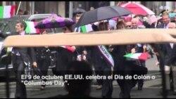 Tradicional desfile por el Día de Colón en NY