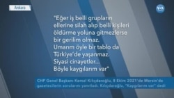 Türkiye'de 'Siyasi Cinayet' Tartışması