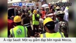 Ít nhất 700 người hành hương thiệt mạng vì giẫm đạp (VOA60)