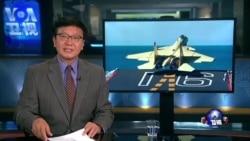 VOA连线:歼15战机模拟航母降落坠毁 中国蓝海战略曝光