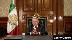 Andrés Manuel López Obrador, presidente de México en foto de archivo.