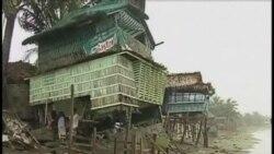 """颱風""""百合""""在菲律賓造成五人死亡"""
