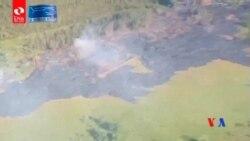 2014-11-11 美國之音視頻新聞: 夏威夷火山熔岩威脅到大島居民