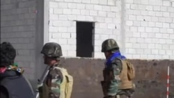 بمباران مواضع داعش در کوبانی