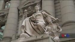 Як жінки Нью-Йорка збираються виправляти гендерну нерівність серед пам'ятників. Відео