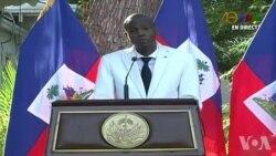 Prezidan Jovenel Moise Di Gen yon Ti Gwoup Kap Peze Souse Peyi a Depi Digtantan