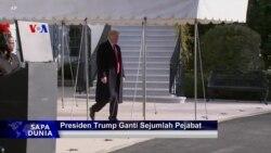 Sapa Dunia VOA: Presiden Trump Ganti Sejumlah Pejabat Penting
