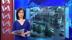 汶川大面积山体滑坡迫使1400人疏散