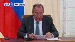 VOA60 America- Pompeo, Lavrov meet, talk Iran policy