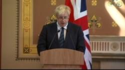 Boris Johnson on Syria Conflict
