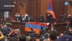 Erivan'da Ateşkes Protestoları