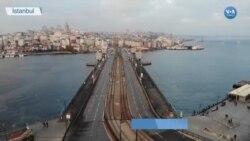 Kısıtlamalarda İstanbul'un Meydanları Boş Kaldı