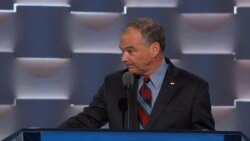 DNC Kaine Speaking Spanish