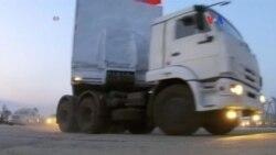 Ayuda humanitaria rusa llega a Ucrania