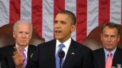 奥巴马国情咨文誓言重振经济