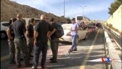 2015-10-11 美國之音視頻新聞: 三名以色列警察星期六被巴勒斯坦人刺傷