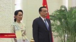 Cố vấn Nhà nước Myanmar Aung San Suu Kyi thăm TQ