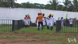 Galop d'essai pour un premier GP équestre en Côte d'Ivoire (vidéo)