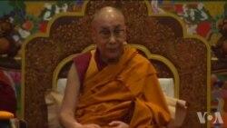 达赖喇嘛在印度新德里的传法时鼓励境内藏人不要放弃