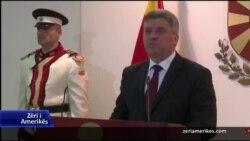 Maqedoni, Reagime per faljen e politikaneve