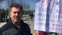 EYT'lilerden Ankara'ya Mesaj: 'Hakkımızı İstiyoruz'